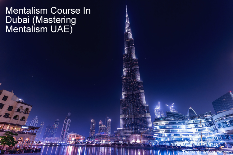 How to learn mentalism course in Dubai (Mastering Mentalism In UAE)