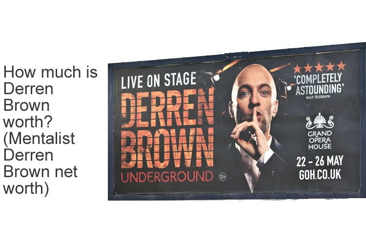 How much is Derren Brown worth? (Mentalist Derren Brown net worth)